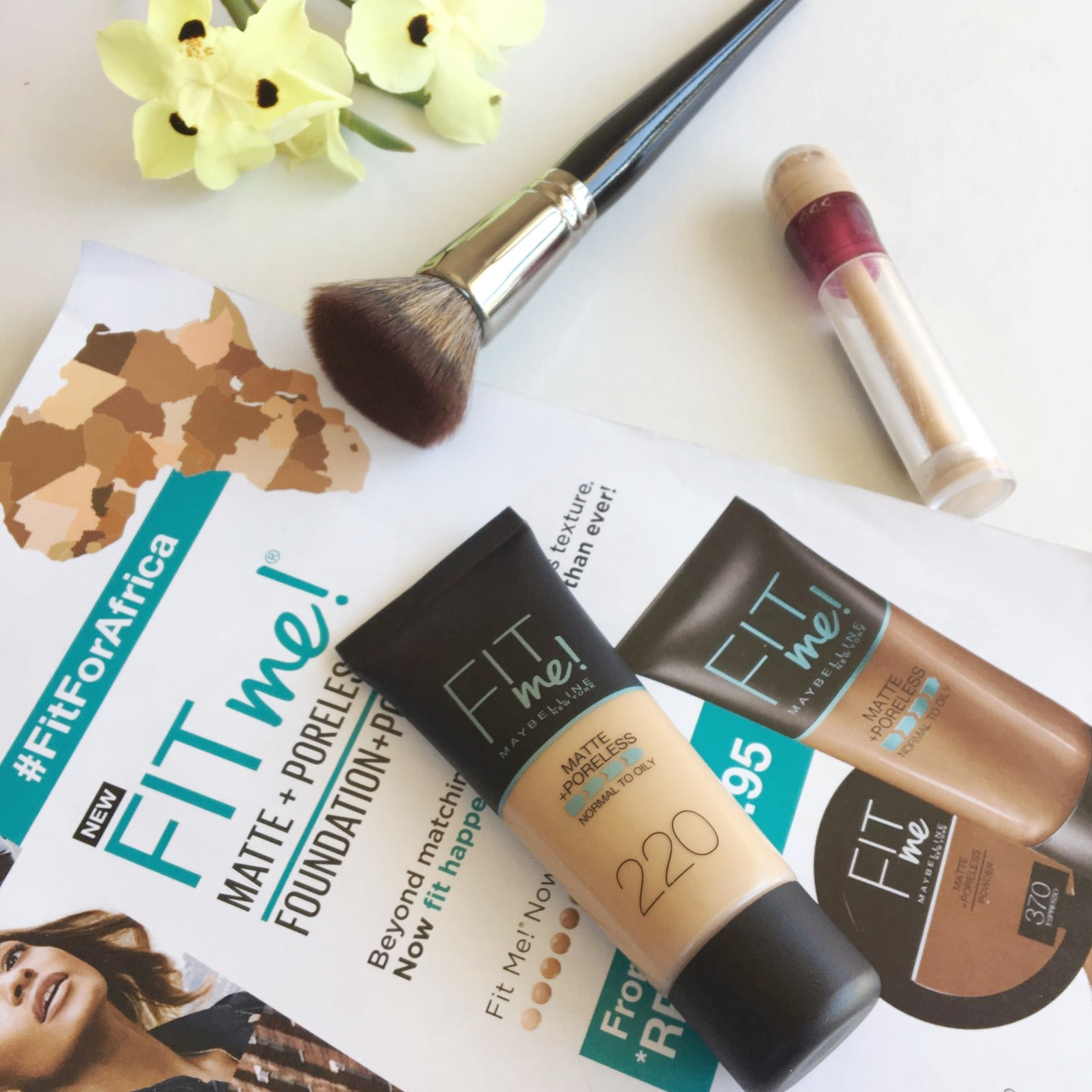 Fit Me Matte Poreless Foundation Review An Ordinary Gal