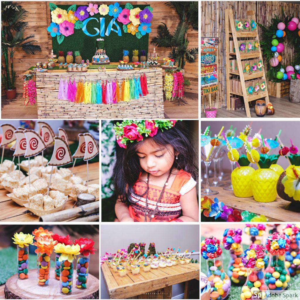 Moana themed party ideas