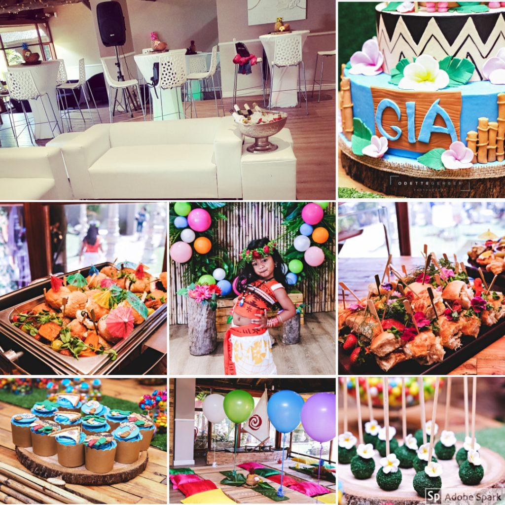 Moana themed party