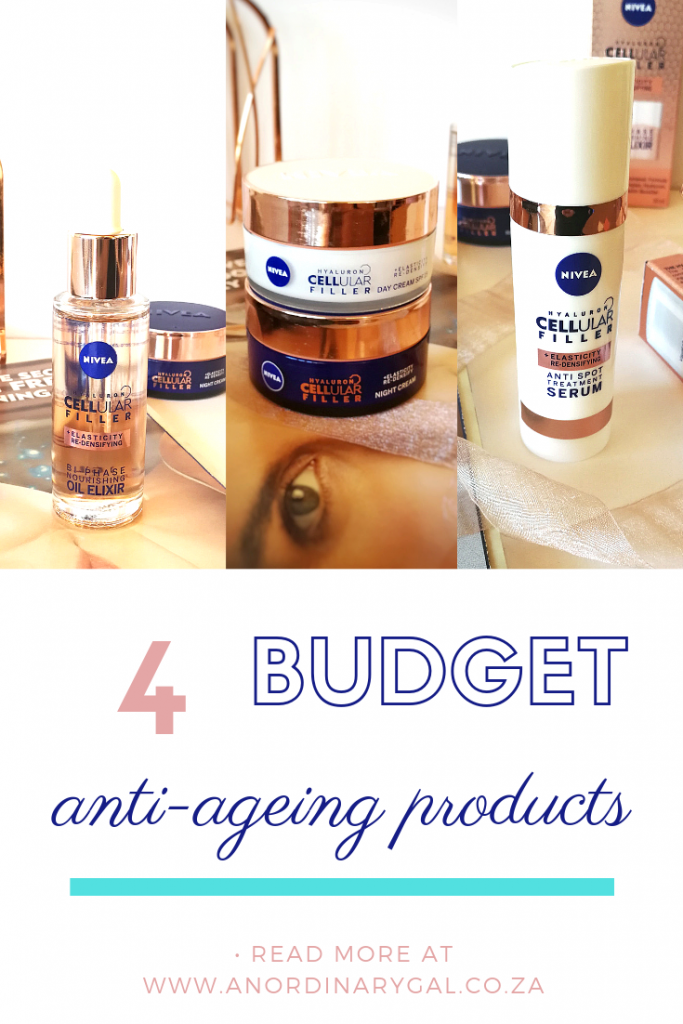 Nivea Anti-ageing products #BudgetBeauty