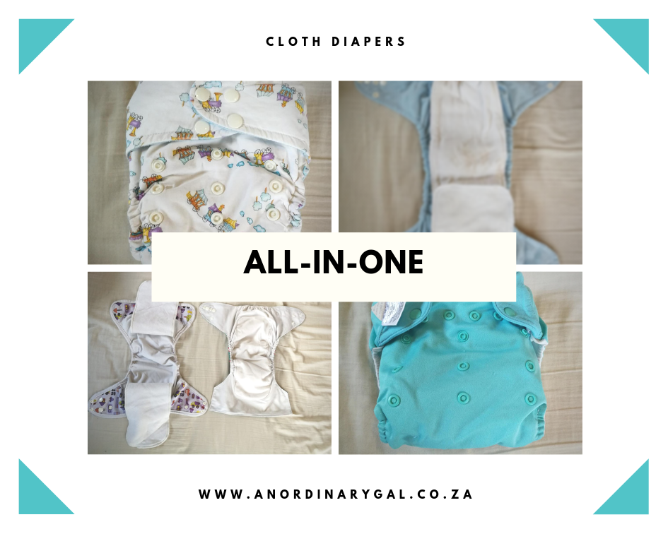 All in one cloth nappies