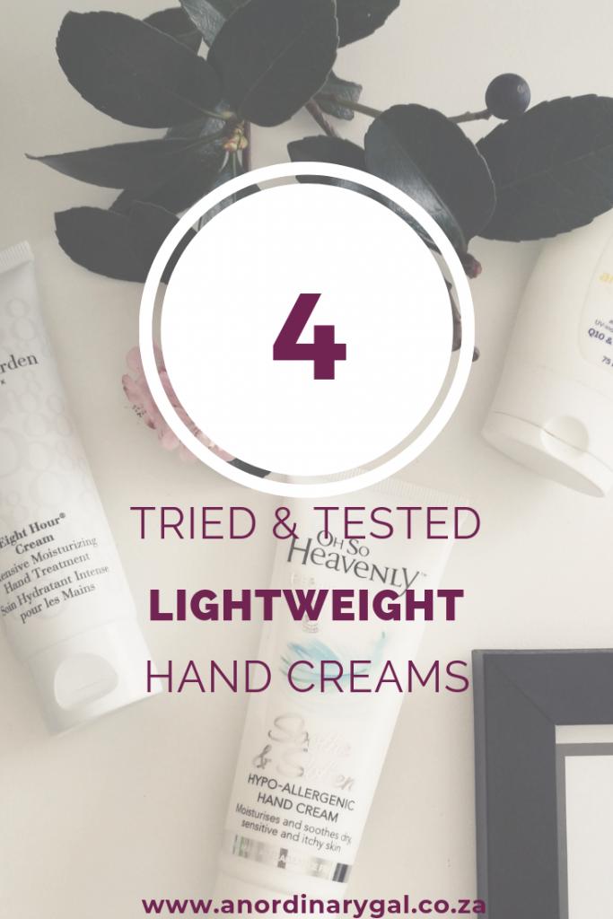 Good Hand Creams