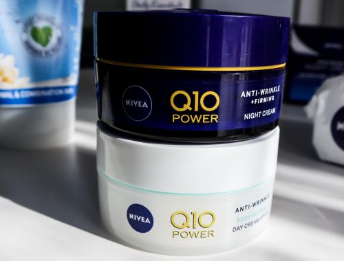 Nivea Q10 Plus range