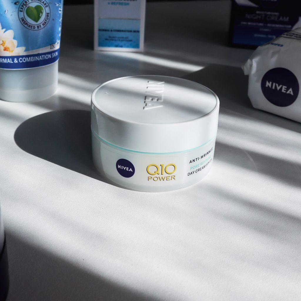 Nivea Q10 Plus Pore refining day cream