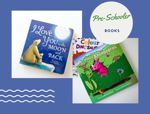 Pre Schooler books