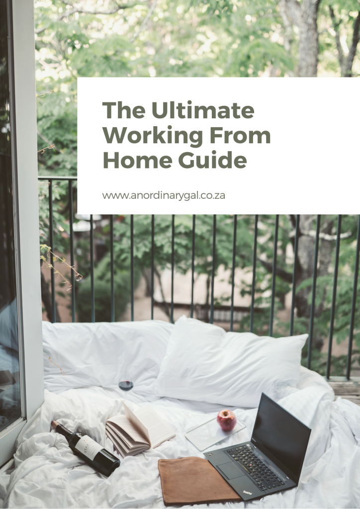 Working from home guide