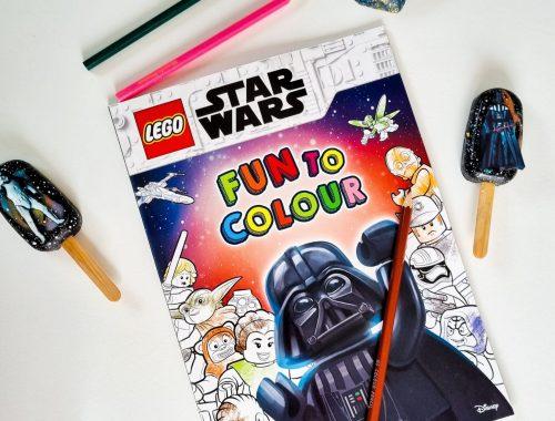 Lego Fun To Colour Star Wars